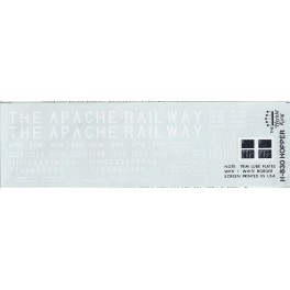 HERALD KING DECAL H-830 - APACHE RAILWAY HOPPER