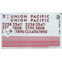 HERALD KING DECAL L-482 - UNION PACIFIC DIESEL LOCOMOTIVE