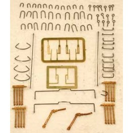 CAL-SCALE 190-521 - DIESEL LOCOMOTIVE DETAIL KIT - ALCO CENTURY