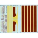 MICROSCALE DECAL 48-97 - ERIE LACKAWANNA ALCO PA OR PB DIESEL LOCOMOTIVE