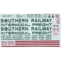 HERALD KING DECAL Z-90 - SOUTHERN INTERMODAL FREIGHT TRAILER