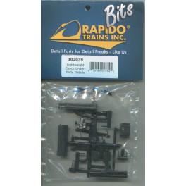 RAPIDO 102039 - LIGHTWEIGHT COACH UNDERBODY DETAILS