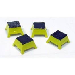 RAPIDO 102065 - PASSENGER STEP BOX - YELLOW