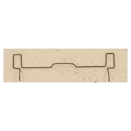 CAL-SCALE 190-522 - DIESEL LOCOMOTIVE COUPLER LIFT BAR