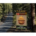 MILLER 44-2852 - SMOKEY THE BEAR BILLBOARD - SMALL