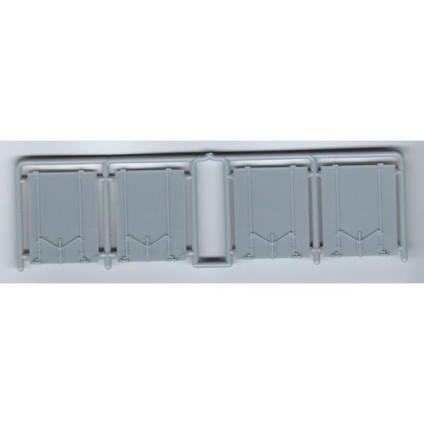 INTERMOUNTAIN P40600-2B - PS-1 50' DOUBLE DOOR BOXCAR PLUG DOORS