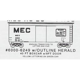 KOMAR HO-20 - MAINE CENTRAL 40' BOXCAR