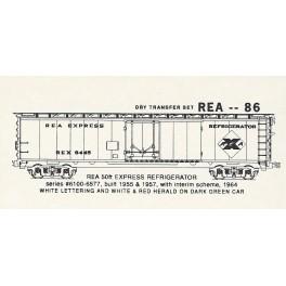 KOMAR HO-86 - RAILWAY EXPRESS AGENCY STEEL REEFER