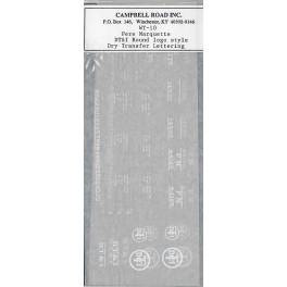 CAMPBELL ROAD DRY TRANSFER WT-10 - PERE MARQUETTE / DETROIT TOLEDO & IRONTON