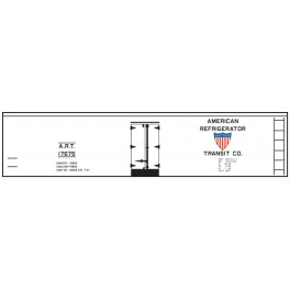 CLOVER HOUSE 8818-03 - AMERICAN REFRIGERATOR TRANSIT WOOD REEFER