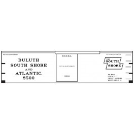 CLOVER HOUSE 7360-01 - DULUTH, SOUTH SHORE & ATLANTIC 36'  WOOD BOXCAR