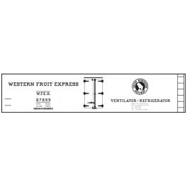 CLOVER HOUSE 9400-02 - WESTERN FRUIT EXPRESS REEFER