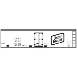 CLOVER HOUSE 9344-07 - UNION REFRIGERATOR TRANSIT OSCAR MAYER REEFER