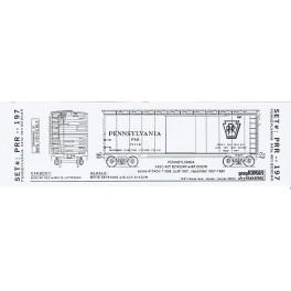KOMAR HO-197 - PENNSYLVANIA X43C 40' BOXCAR