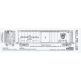 KOMAR HO-196 - PENNSYLVANIA X44 50' BOXCAR