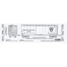 KOMAR HO-195 - PENNSYLVANIA X48 40' BOXCAR