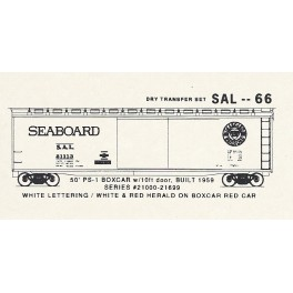 KOMAR HO-66 - SEABOARD AIR LINE PS-1 50' BOXCAR