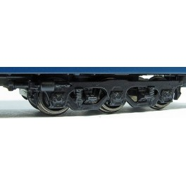 RAPIDO 102064 - PASSENGER CAR TRUCKS - 6 WHEEL HEAVYWEIGHT - N SCALE