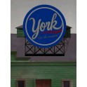 MILLER 44-3352 - YORK PEPPERMINT PATTIES SIGN - SMALL