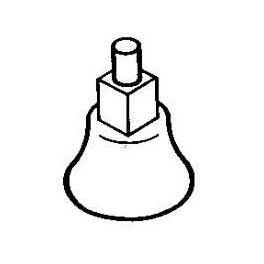 CAL-SCALE 190-430 - DIESEL UNDER FLOOR MOUNT BELL