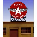 MILLER  FLYING A GASOLINE SIGN - SMALL