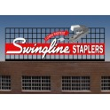 MILLER 44-3402 - SWINGLINE STAPLES SIGN - SMALL