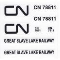 SA-T459 - CANADIAN NATIONAL GREAT SLAVE LAKE RAILWAY CABOOSE