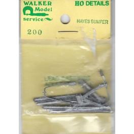 WALKER MODEL 200 - HAYES BUMPER