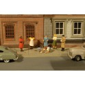 BACHMANN 33167 O SCALE PAINTED FIGURES - SIDEWALK PEOPLE