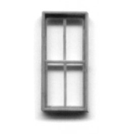 "GRANDT LINE 5140 - FACTORY WINDOW DOUBLE HUNG 4 PANE - 42"" X 91"""