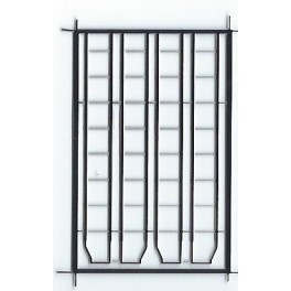 """BLACK CAT BC295 - CANADIAN PACIFIC CANADIAN STYLE LADDERS - 8 RUNG FOR 10'6""""IH STEEL CARS"""