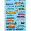 MICROSCALE DECAL 60-1535 - CONTEMPORARY GRAFFITI 3