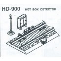 DETAILS WEST HD-900 - HOT BOX DETECTOR