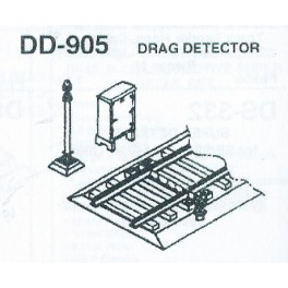 DETAILS WEST DD-905 - DRAGGING EQUIPMENT DETECTOR