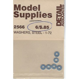 DETAIL ASSOCIATES 2566 - WASHERS - STEEL 1-72