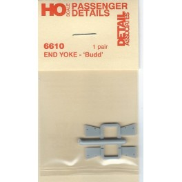 DETAIL ASSOCIATES 6610 - END YOKE - BUDD PASSENGER CAR