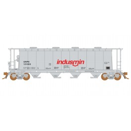 RAPIDO 127020 - 3800 CU.FT. COVERED HOPPER - INDUSMIN 121403