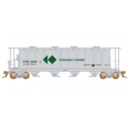RAPIDO 127019 - 3800 CU.FT. COVERED HOPPER - CANPOTEX 38205