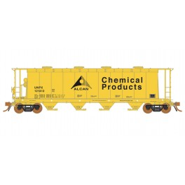 RAPIDO 127021 - 3800 CU.FT. COVERED HOPPER - ALCAN CHEMICAL 121412
