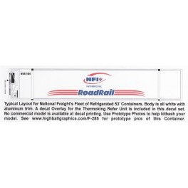 HIGHBALL F-285 NFI ROADRAIL CONTAINER