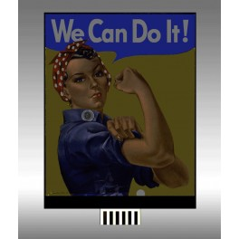 MILLER 44-3702 - WE CAN DO IT  - SMALL
