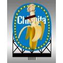 MILLER 88-3601 - CHIQUITA BANANA  - LARGE