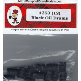CAMPBELL 253 - BLACK OIL DRUMS