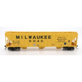 INTERMOUNTAIN 472249 - 4785 PS2-CD COVERED HOPPER - LATE END FRAME - MILWAUKEE ROAD