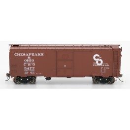 "INTERMOUNTAIN 45794 - 1937 AAR 10'0"" IH 40' BOXCAR - CHESAPEAKE & OHIO - 5438"