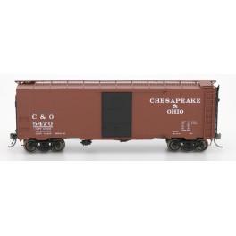 "INTERMOUNTAIN 45793 - 1937 AAR 10'0"" IH 40' BOXCAR - CHESAPEAKE & OHIO - 5407"