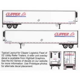 HIGHBALL F-292 CLIPPER LOGISTICS CONTAINER