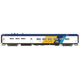 RAPIDO 124049 - PS 48 SEAT DINING CAR - ONTARIO NORTHLAND - 1307 MOOSE RIVER