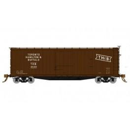 RAPIDO 130112 - USRA DOUBLE SHEATHED BOXCAR - TORONTO HAMILTON & BUFFALO