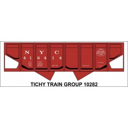 TICHY 10282 - NEW YORK CENTRAL USRA PANEL SIDE REBUILT HOPPER DECAL